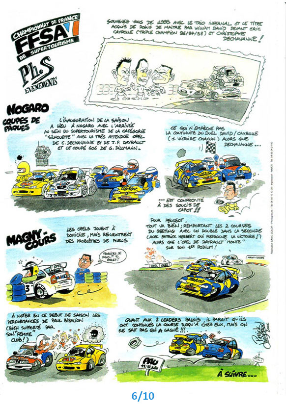 bandes dessinées ffsa Andros Pierrick Chazeaud