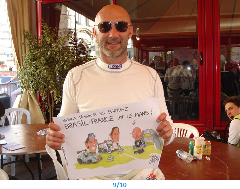 caricature Fabien Barthez Pierrick Chazeaud